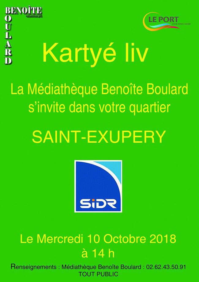 Kartyé-Liv à Benoite Boulard