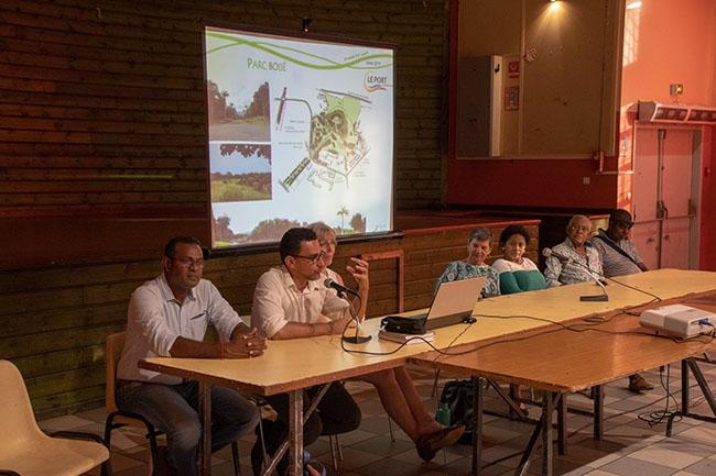 Fil vert : réunion publique de concertation.