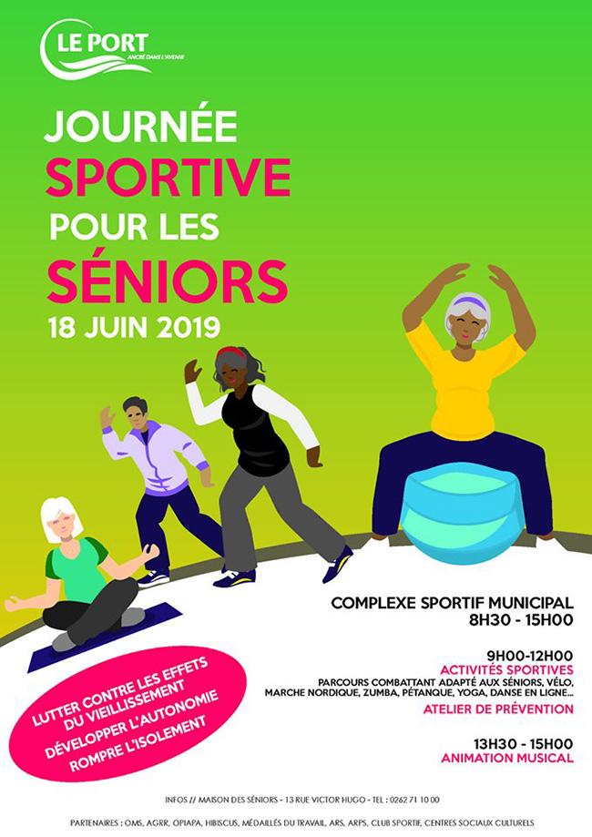 Journée sportive pour les séniors