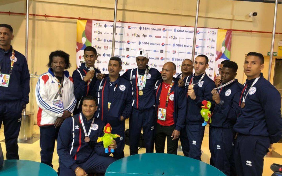 Jeux des Îles : Jami Abdallah, un Portois en or