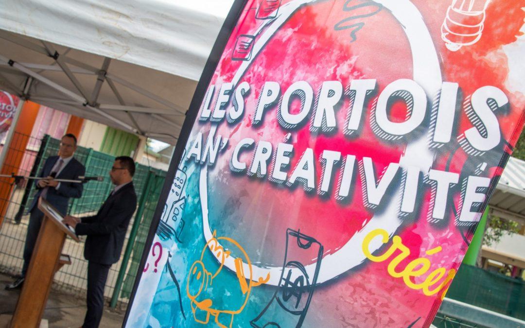 Inauguration : « Les Portois an créativité – la fabrique à entreprendre »