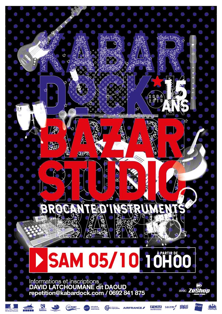 Bazar Studio #2 - brocante d'instruments