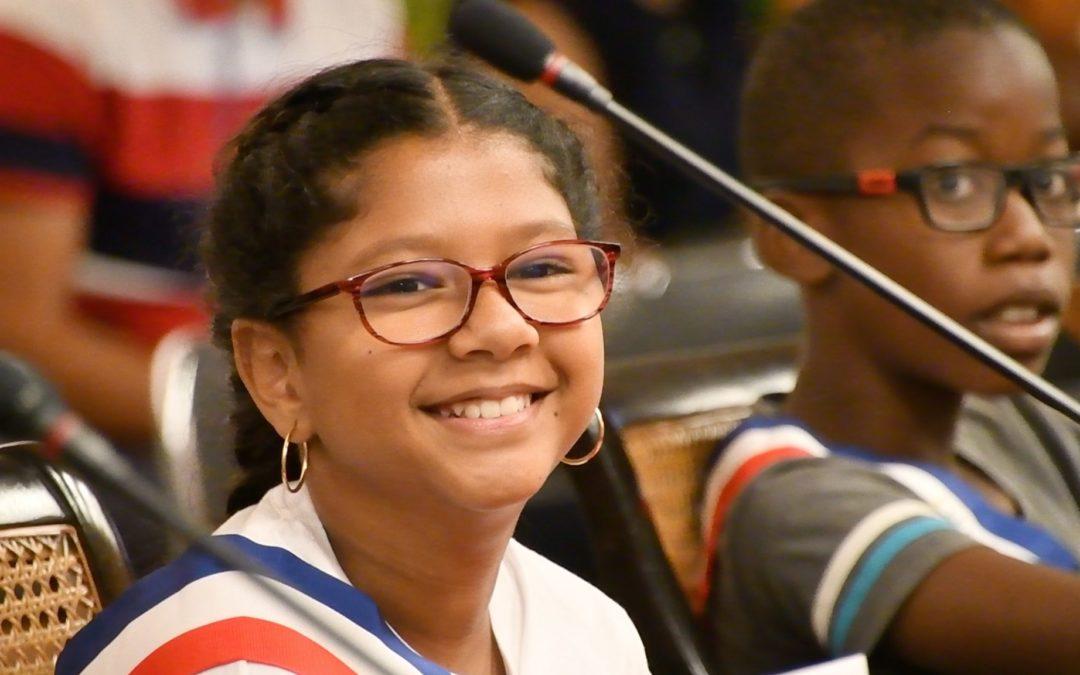 Gabrielle Marianne, nouvelle maire enfant du Port