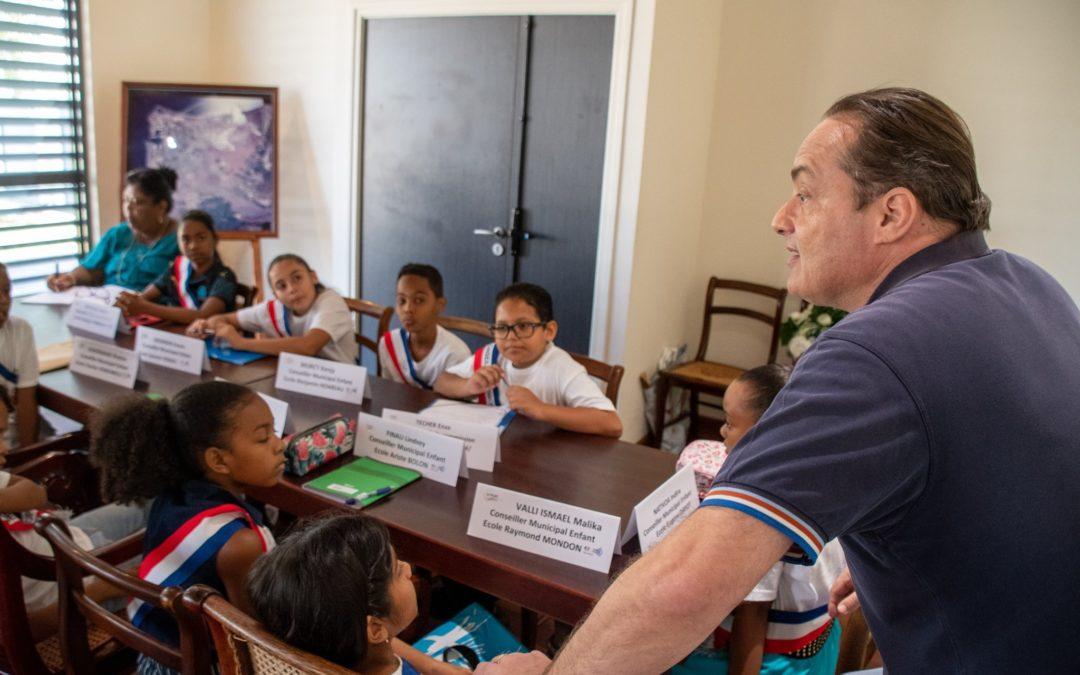 Premières commissions pour les conseillers municipaux enfants