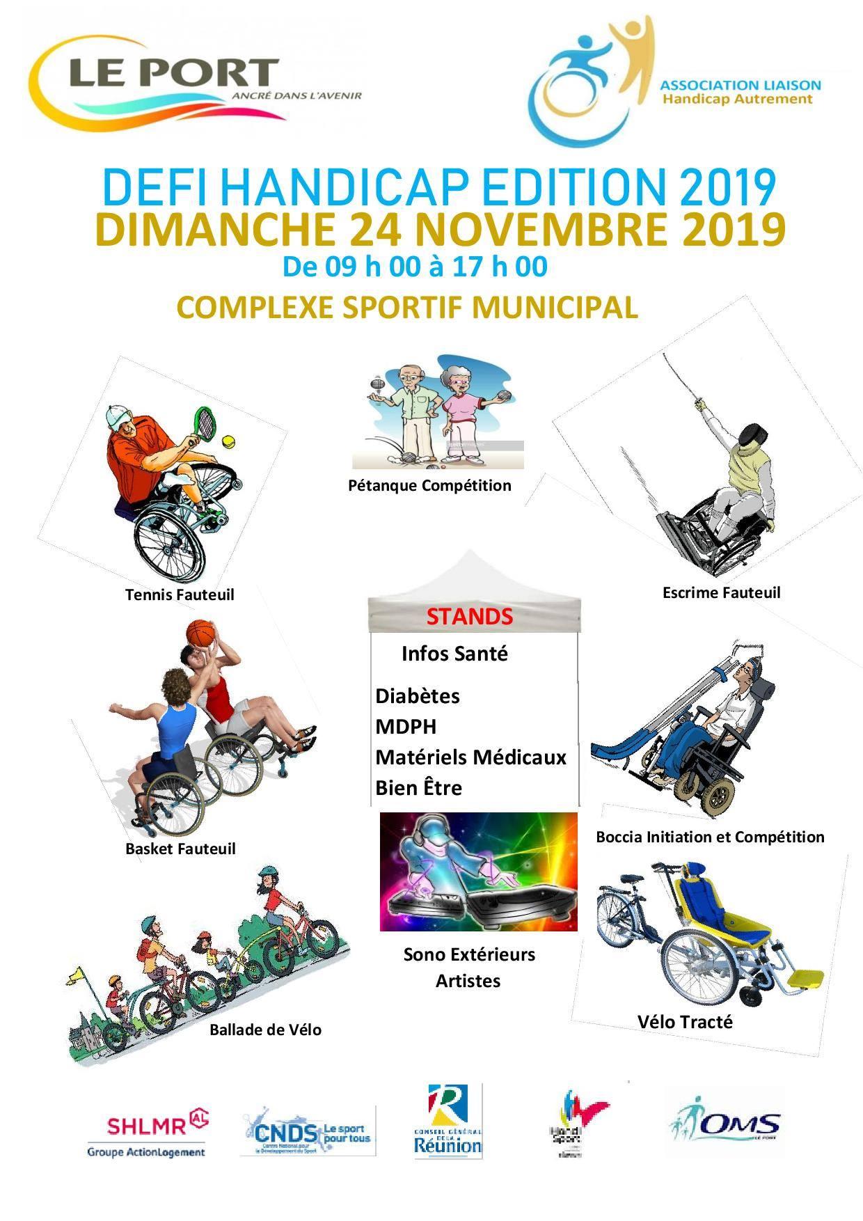Défi handicap 2019