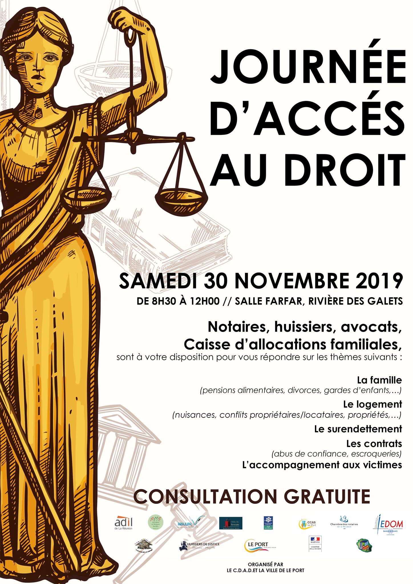 Journée d'accès au droit