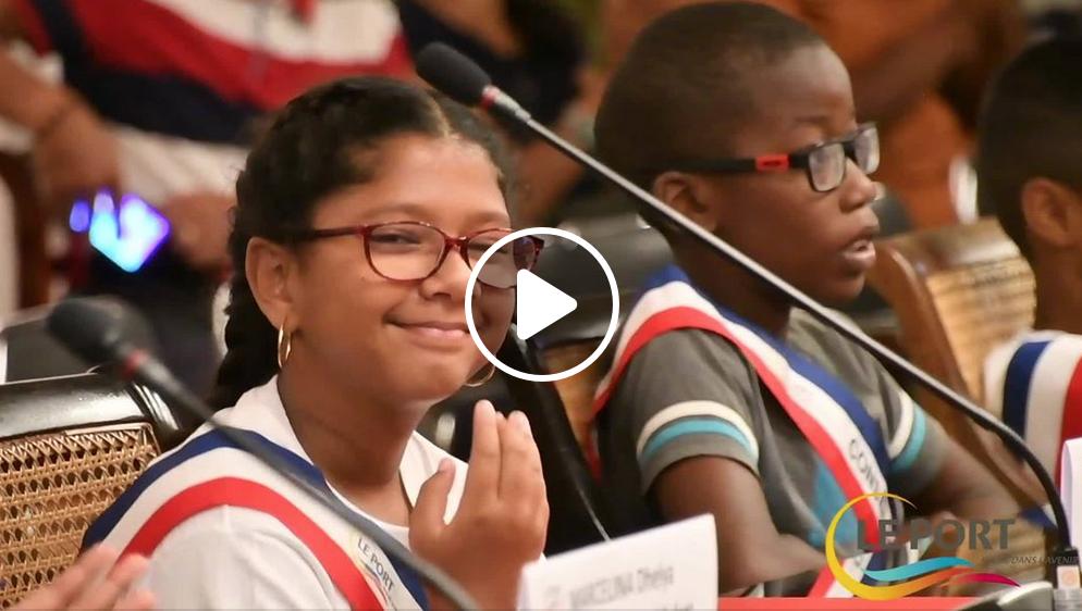 Retour en vidéo sur l'élection du maire des enfants du Port