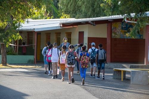 Rentrée scolaire au Port
