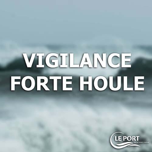 Arrêté municipal-vigilance Forte houle