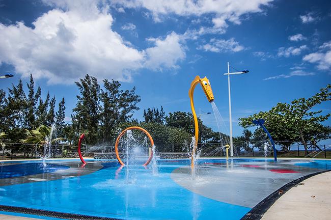 Réouverture des jeux d'eau le lundi 27 juillet