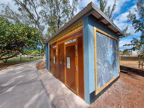 De nouvelles toilettes automatiques sur le littoral nord
