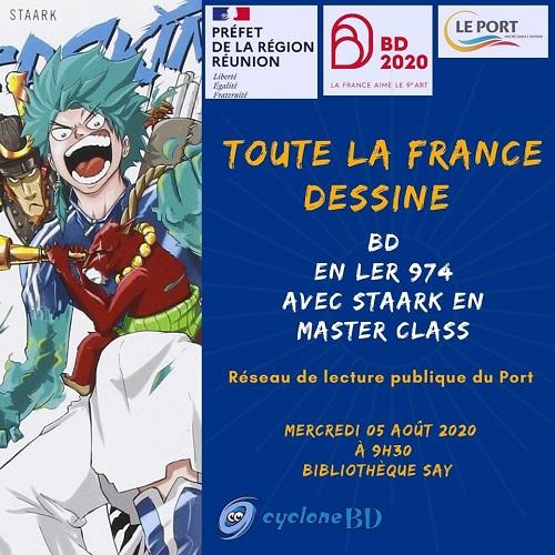 « Toute la France dessine » : Rencontre avec Staark