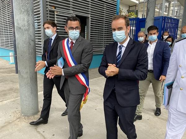 Le Port, unique cité éducative réunionnaise se dévoile au ministre des Outre-mer