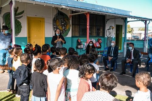 Visite de rentrée du maire à l'école Yvonna Bigot