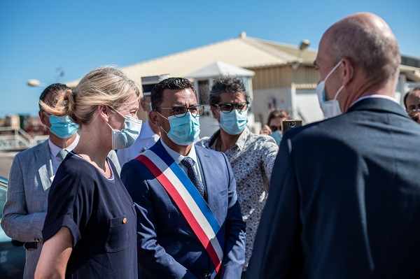Olivier Hoarau interpelle la secrétaire d'État sur la valorisation des eaux usées