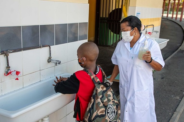 La Ville veille au respect du protocole sanitaire dans les écoles
