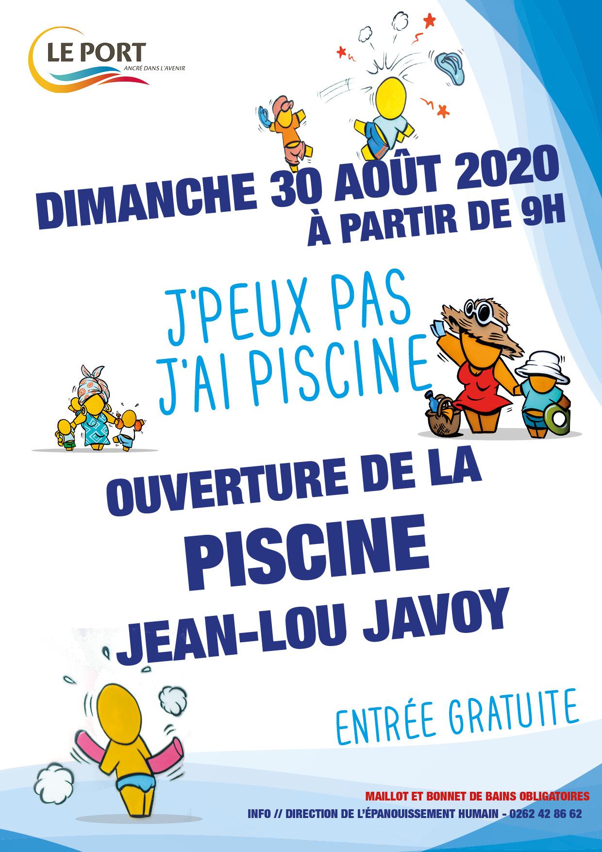 Ouverture de la Piscine Jean-Lou Javoy