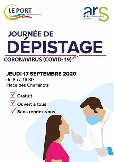 Covid-19: dépistage gratuit ce jeudi