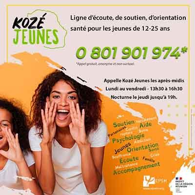 Kozé Jeunes, une ligne d'écoute pour les jeunes