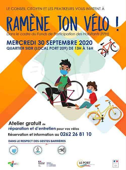 Réparez vos vélos gratuitement!
