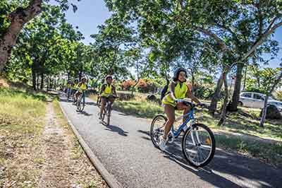 La ville récompensée pour le projet d'aménagements cyclables du parc boisé