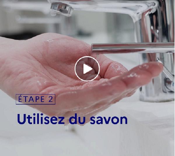 [Vidéo]#COVID19 | Le lavage fréquent des mains fait partie des gestes barrières pour vous protéger et protéger les autres.