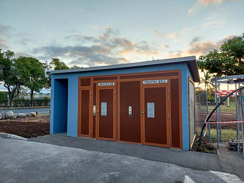 De nouvelles toilettes automatiques opérationnelles sur le littoral nord