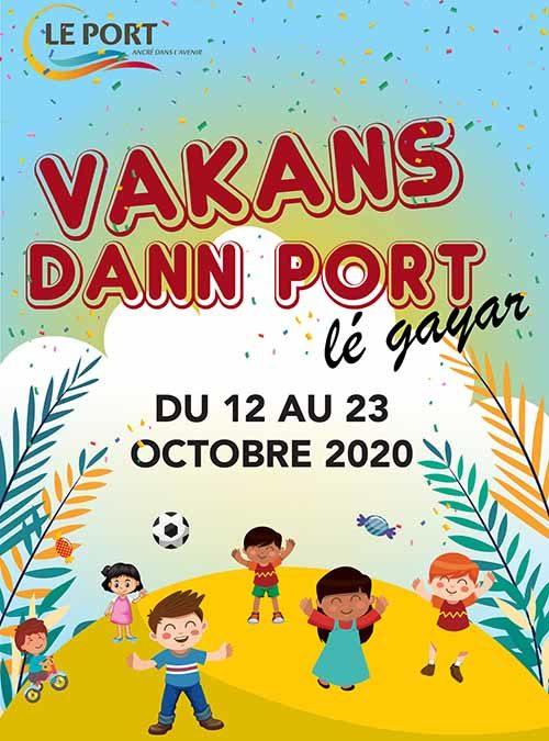 Vakans dann Port – Octobre 2020