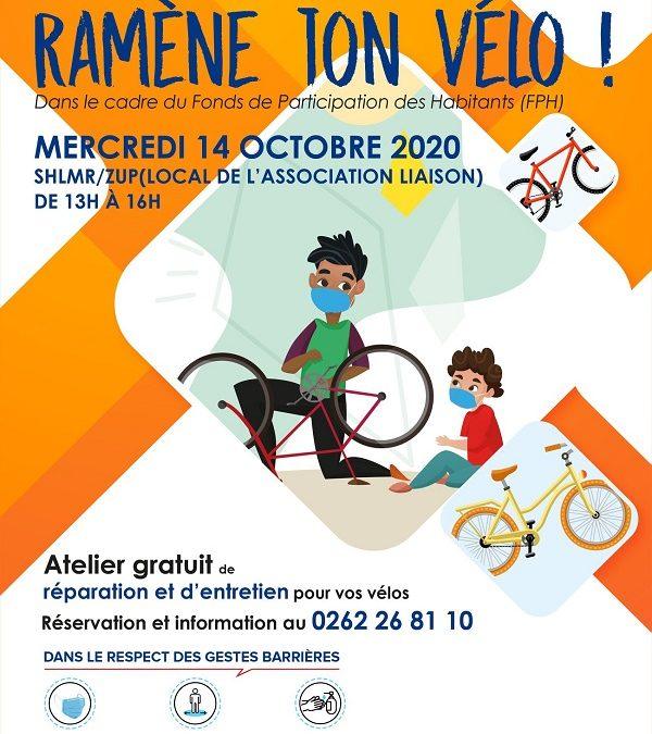 « Ramène ton vélo ! », l'atelier s'installe à la ZUP ce mercredi