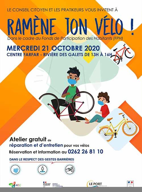 « Ramène ton vélo ! » à la Rivière des Galets