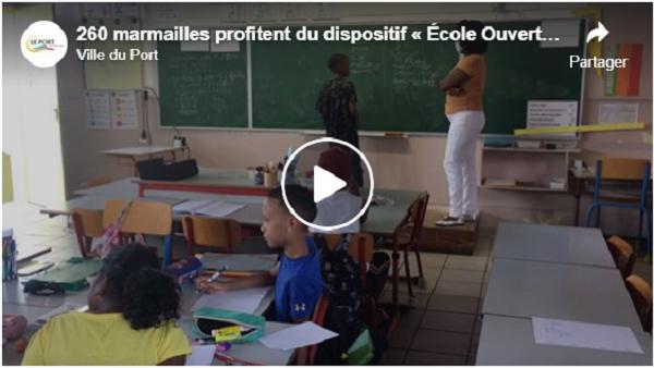 260 marmailles profitent du dispositif « École Ouverte » au Port