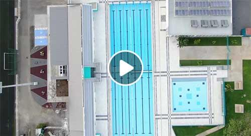 Visite de la piscine à J-2 de l'ouverture