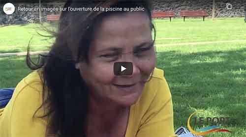 [Vidéo] Retour en images sur l'ouverture de la piscine au public