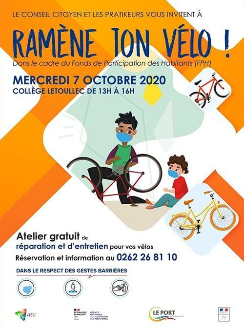 Réparez vos vélos gratuitement !