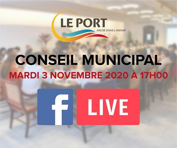 Suivez le conseil municipal en direct ce mardi 3 novembre