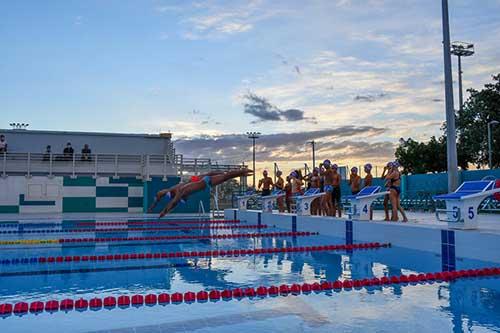 Piscine et jeux d'eau ouverts le 11 novembre