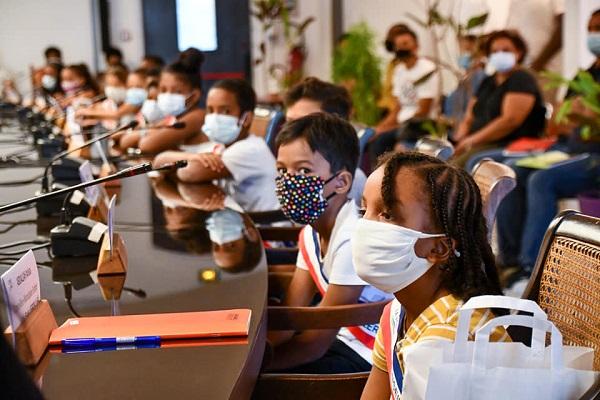 Installation du nouveau Conseil municipal des Enfants
