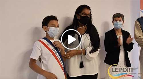 [Vidéo] Conseil Municipal des Enfants : réactions de Mathéo Alef, élu maire