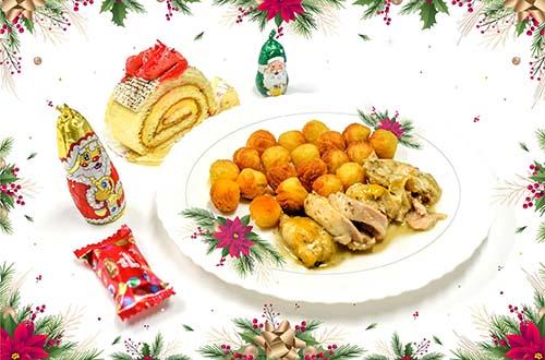 Repas de Noël dans les écoles du Port