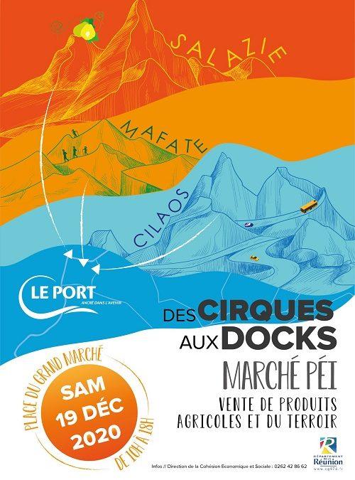 « Marché péï, des Cirques aux Docks », samedi 19 décembre au Grand marché