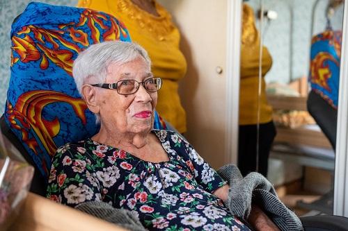 La doyenne du Port fête ses 106 ans