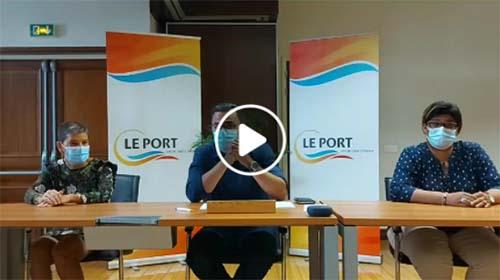 Propos injurieux envers les Portois : Conférence de presse du Maire