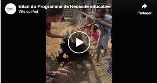 Bilan du Programme de Réussite éducative