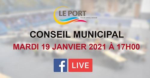 Suivez le conseil municipal en direct, mardi 18 Janvier dès 17h