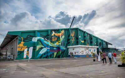 [Vidéo] Ville-musée : une fresque géante signée Jace et Gorg One