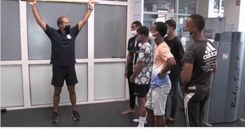 Reportage d'Antenne Réunion – Port Tour Formation