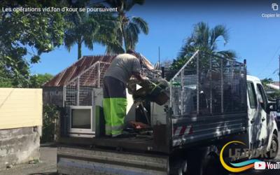 [Vidéo] Les opérations vid fon d'kour se poursuivent