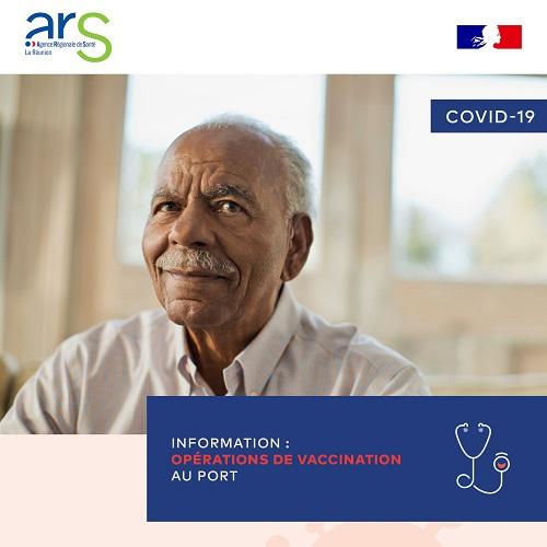 [Rappel] Coronavirus : campagne de vaccination ce mercredi au Port