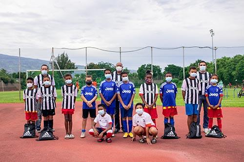 Juventus Academy du Port: remise des tenues officielles