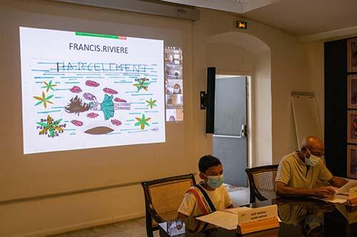 L'école Francis Rivière remporte le concours de dessins pour lutter contre les violences et le harcèlement scolaires
